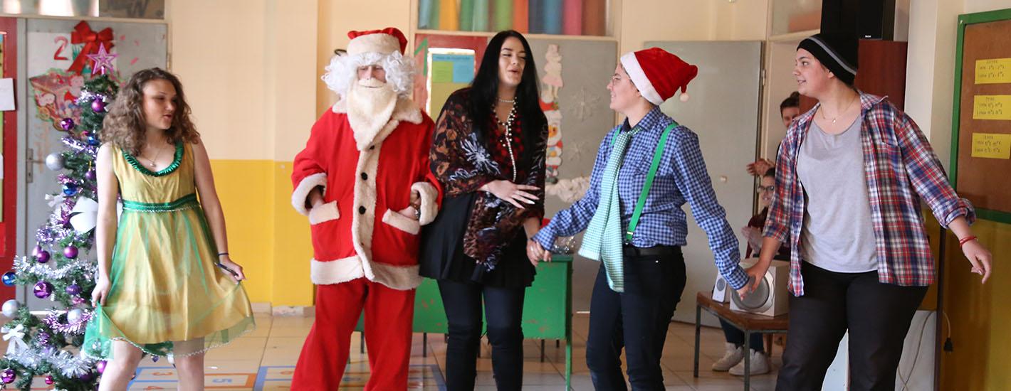 Студентске новогодишње представе за децу