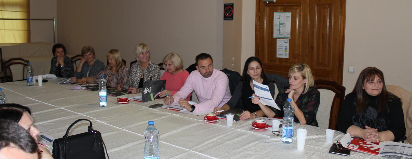 Професори Високе школе на састанку ЕРАЗМУС + пројекта у Крушевцу